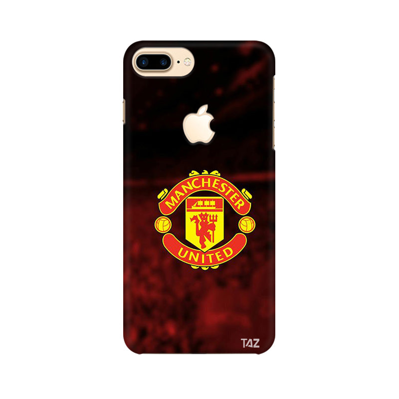new concept a74cd f1bbc TraTec Football - Manchester United Printed Case For Apple iPhone 7 Plus  (Apple Logo Cut)