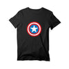 Captain America Round Neck T-Shirt