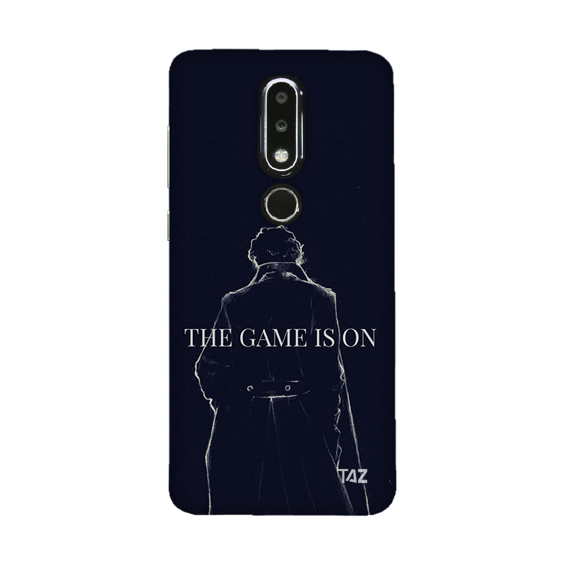 TraTec Sherlock Printed Case For Nokia 6.1 Plus