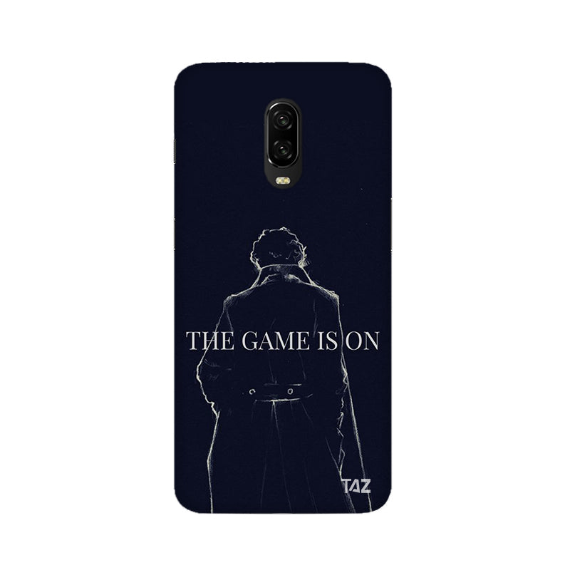 TraTec Sherlock Printed Case For OnePlus 6T