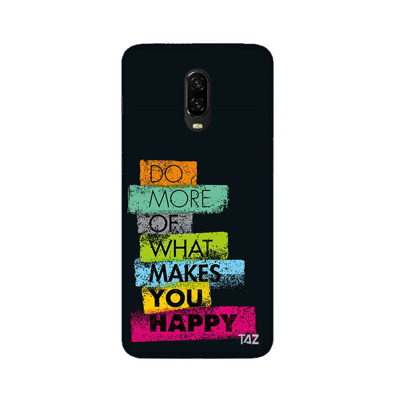TraTec Typography Printed Case For OnePlus 6T