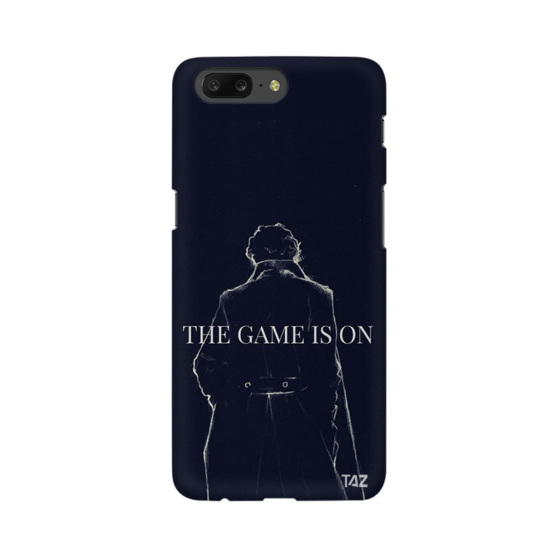 TraTec Sherlock Printed Case For OnePlus 5