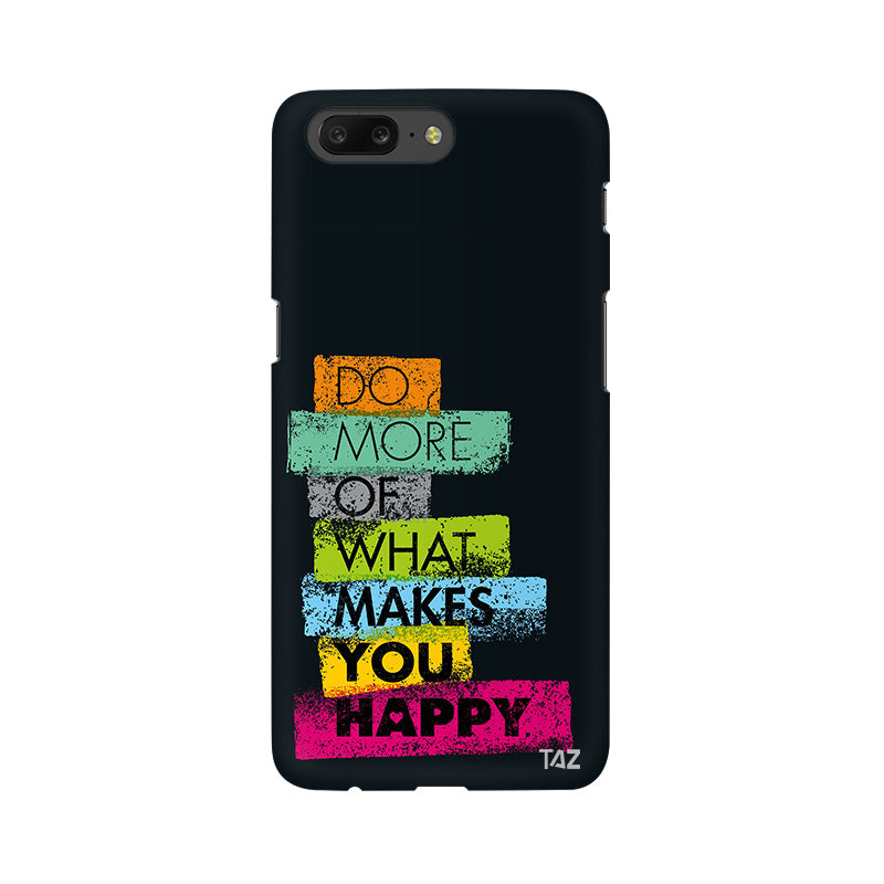 TraTec Typography Printed Case For OnePlus 5