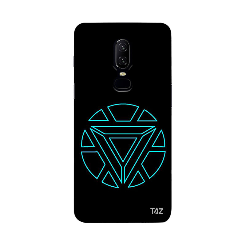 the best attitude 72d61 6be36 TraTec Ironman - Jarvis Printed Case For OnePlus 6