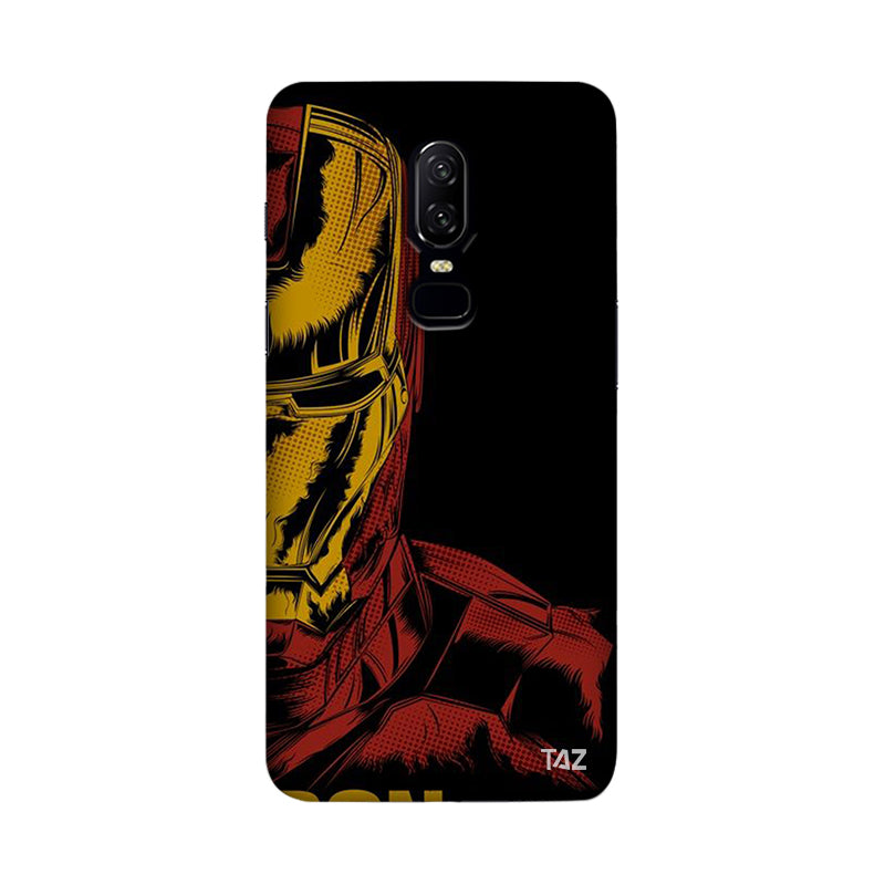 TraTec Ironman Printed Case For OnePlus 6