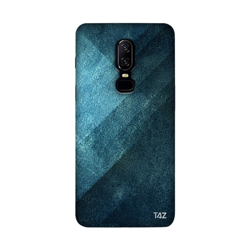 TraTec Denim Printed Case For OnePlus 6