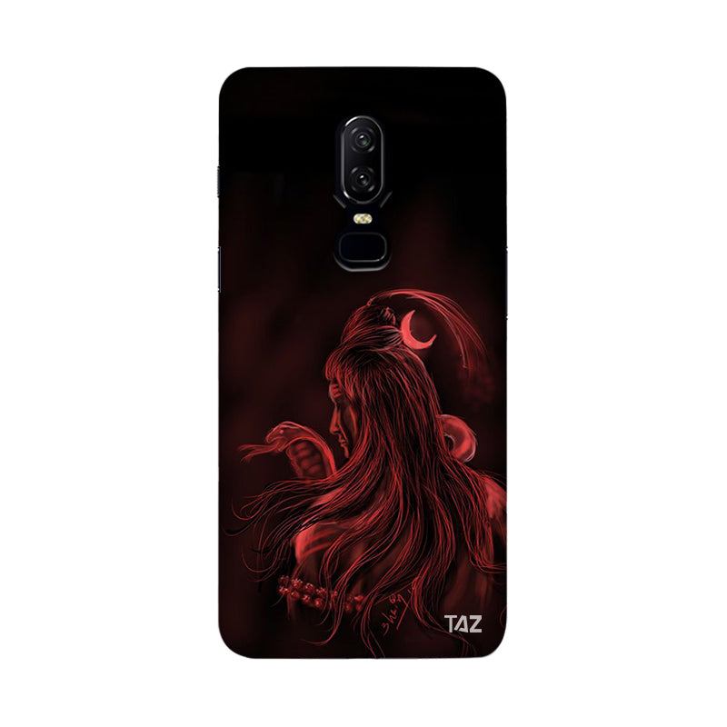 TraTec Lord Shiva Printed Case For OnePlus 6