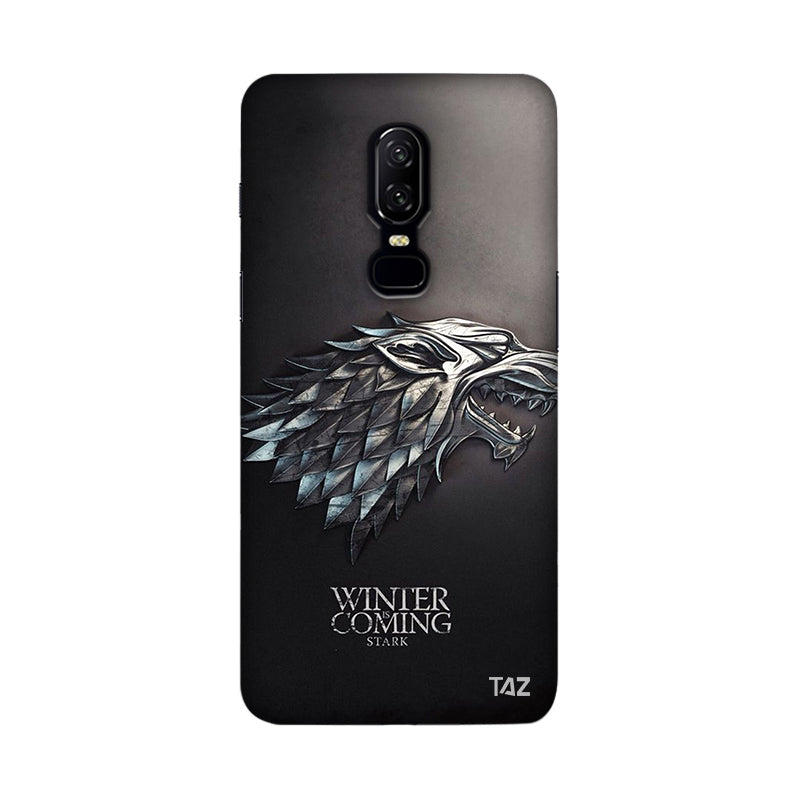 TraTec Game Of Thrones - House of Stark Printed Case For OnePlus 6