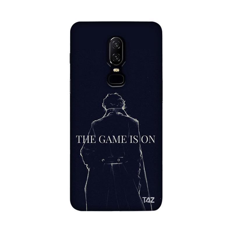 TraTec Sherlock Printed Case For OnePlus 6