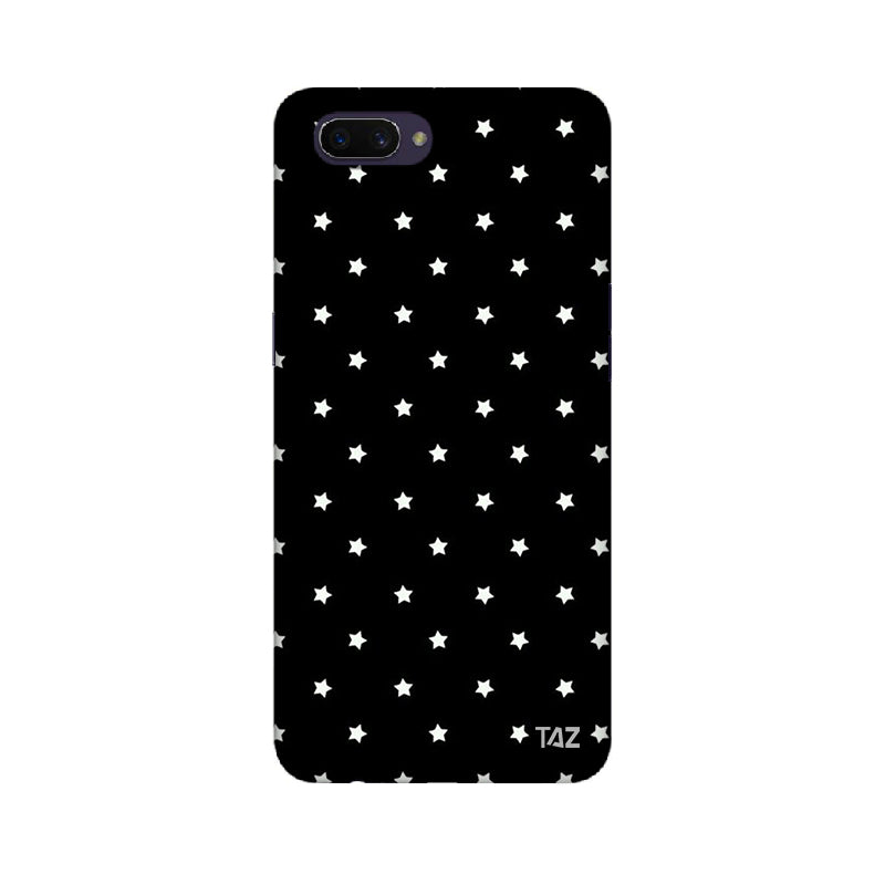 buy online a97b4 6e8e0 TraTec Black and White Printed Case For Oppo A3s