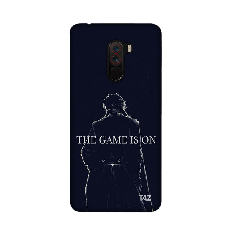 TraTec Sherlock Printed Case For Xiaomi Poco F1