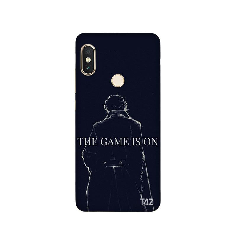 TraTec Sherlock Printed Case For Xiaomi MiA2