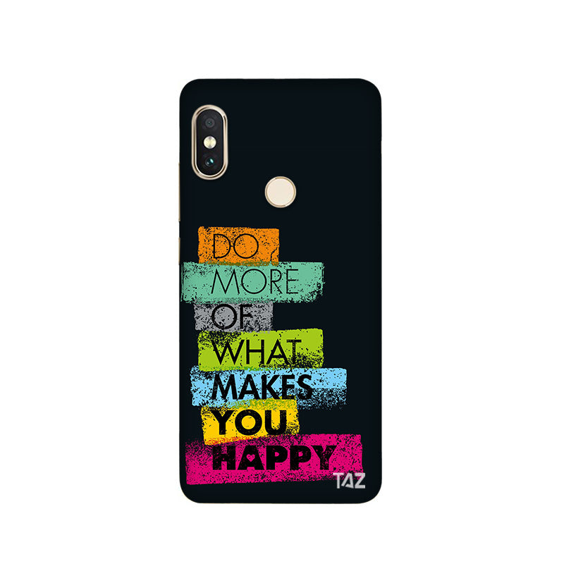 TraTec Typography Printed Case For Xiaomi Redmi Note 5 Pro