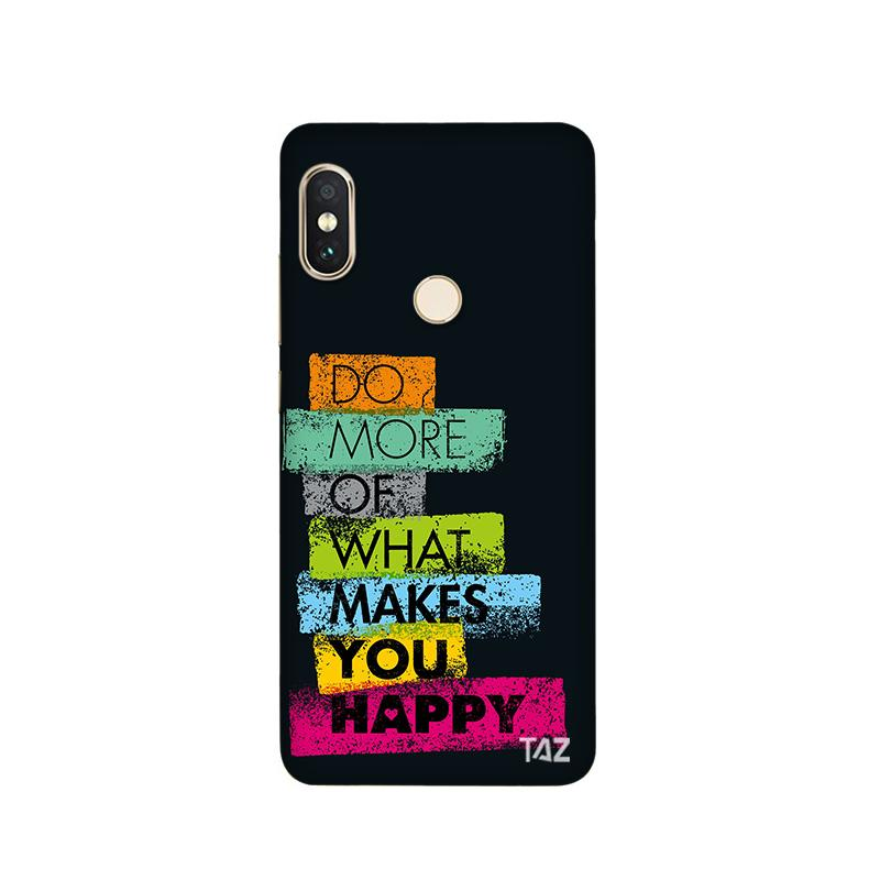 TraTec Typography Printed Case For Xiaomi MiA2