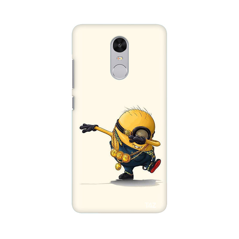 best service 18679 98c19 TraTec Minion - Dab Printed Case For Xiaomi Redmi Note 4
