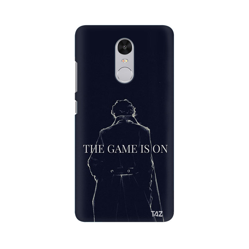 TraTec Sherlock Printed Case For Xiaomi Redmi Note 4
