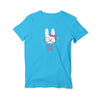 Always Happy Round Neck T-Shirt