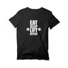 Eat Sleep Lift Repeat Round Neck T-Shirt