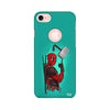 Deadpool Printed Case For Apple iPhone 7 (Round Cut)