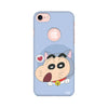 Shinchan Printed Case For Apple iPhone 7 (Round Cut)