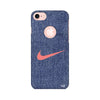 Denim Printed Case For Apple iPhone 7 (Round Cut)