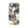 Feminine Printed Case For Apple iPhone 7 (Round Cut)