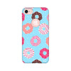 Feminine - Donut Printed Case For Apple iPhone 7 (Round Cut)