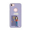 FRIENDS - Monica Keeps It Clean Printed Case For  Apple iPhone 7 (Round Cut)
