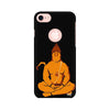 Lord Hanuman Printed Case For Apple iPhone 7 (Round Cut)