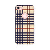 Checks Printed Case For Apple iPhone 7 (Round Cut)