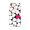 Black and White Printed Case For Apple iPhone 7 (Round Cut)