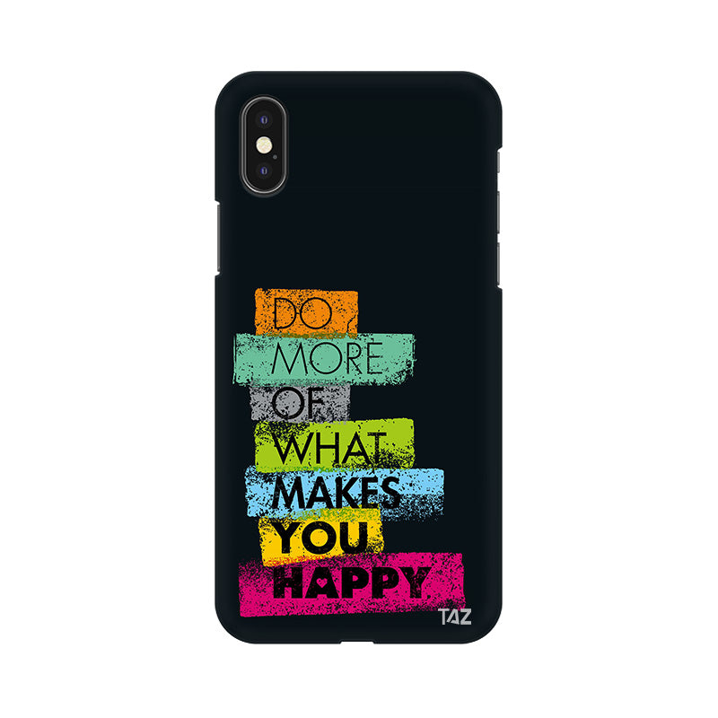 TraTec Typography Printed Case For Apple iPhone X