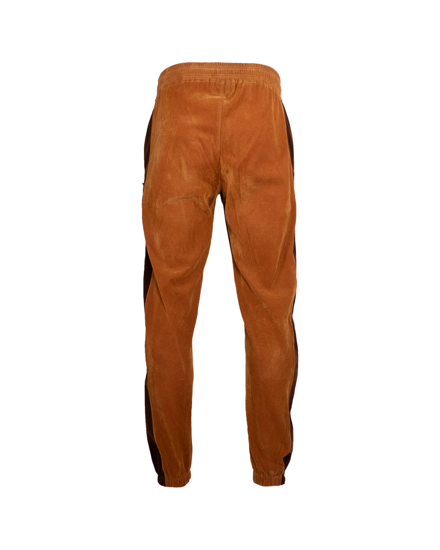 Brown Plush Tracksuit Bottoms