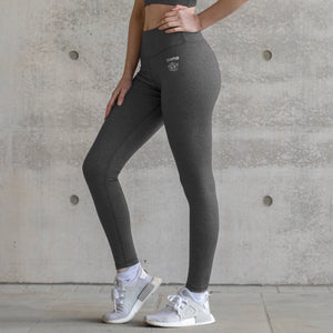 Asuno UK Activewear Yoga Fitness Embrace Leggings Grey