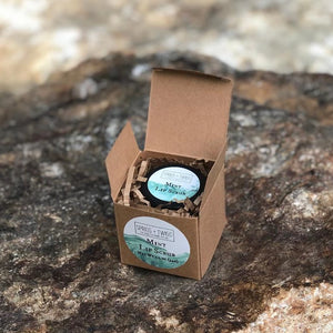 Organic Exfoliating Sugar Lip Scrub Mint