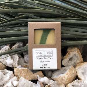 Home For The Holidays  Clean Organic Handmade Soap Box