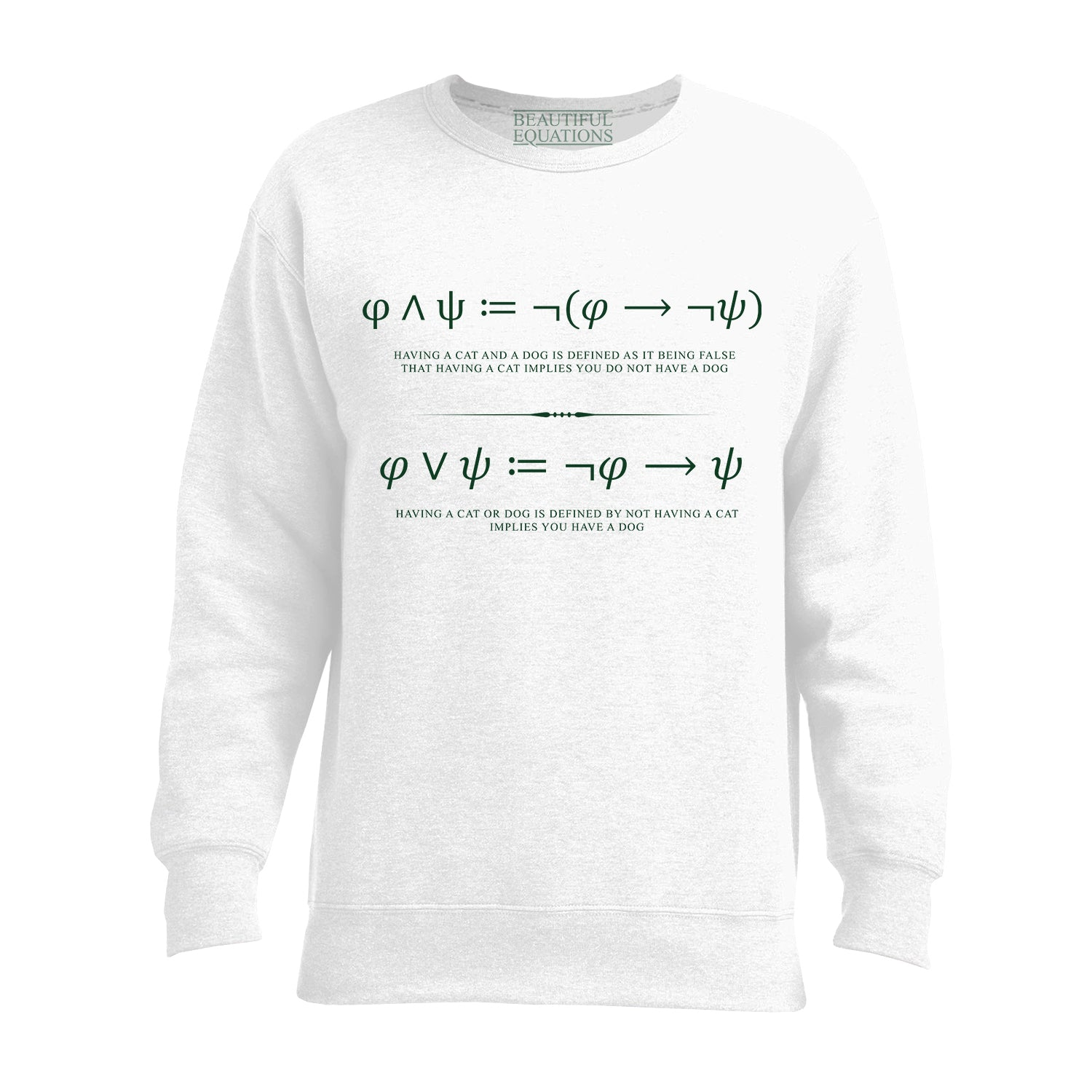 Logical Conjunction Women's Sweatshirt