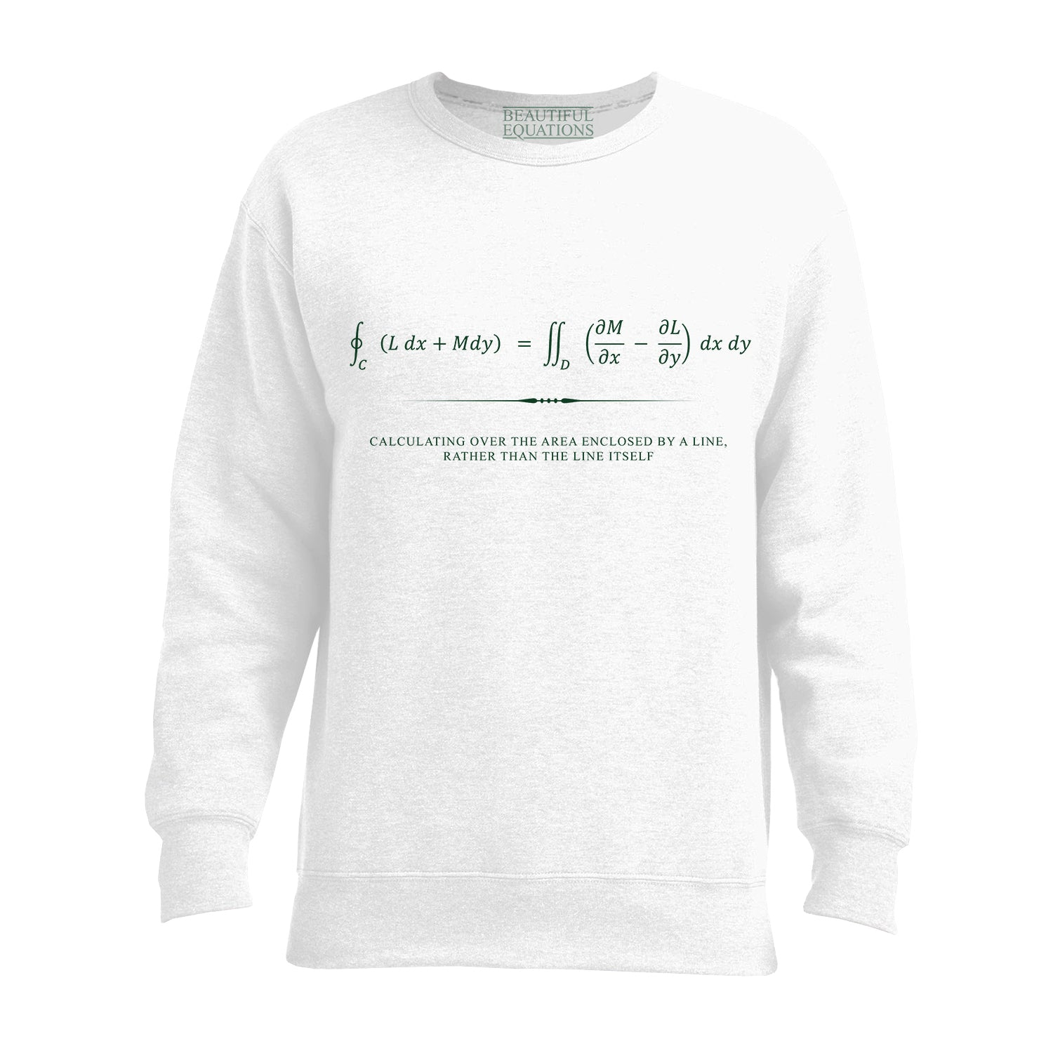 Green's Theorem Women's Sweatshirt