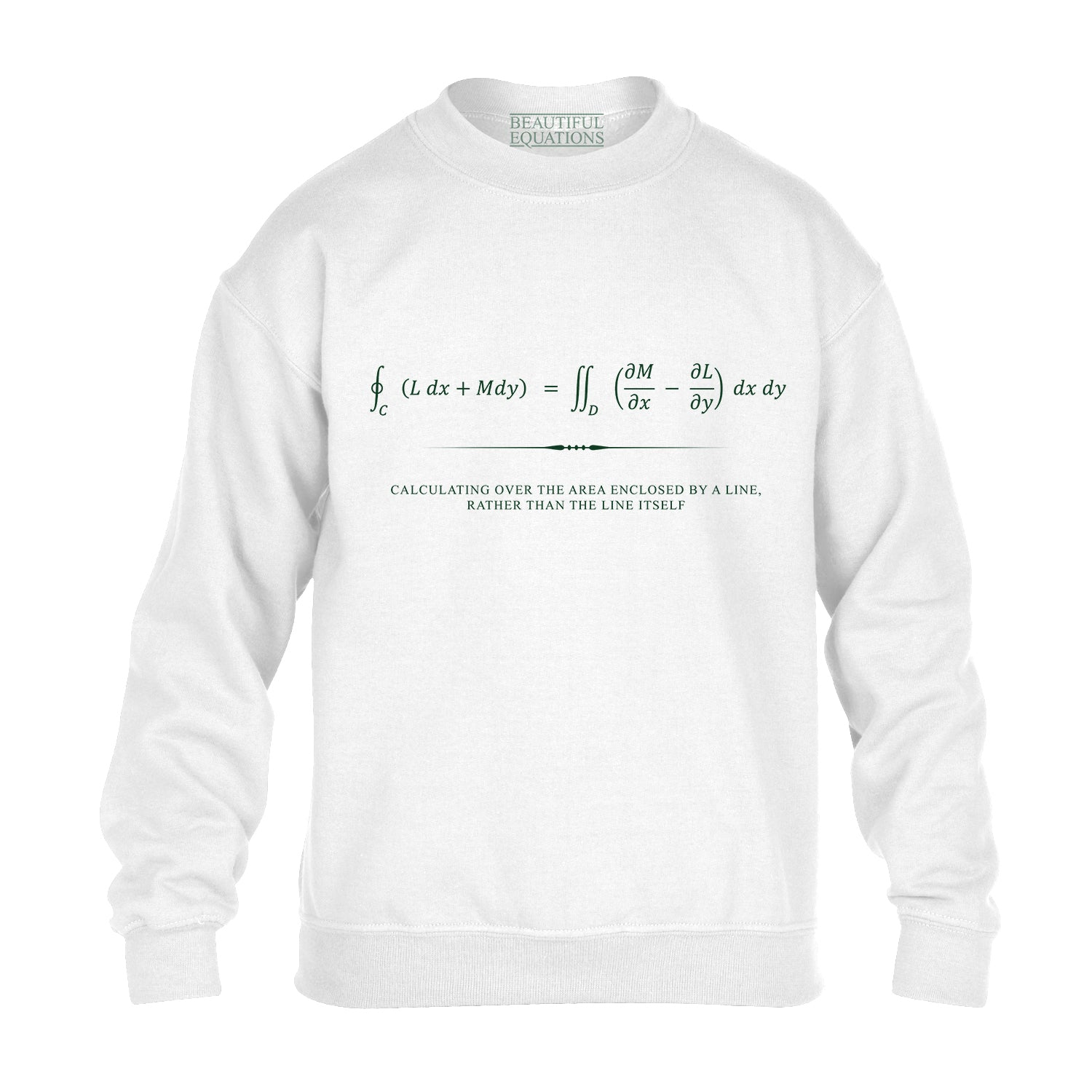 Green's Theorem Youth Sweatshirt