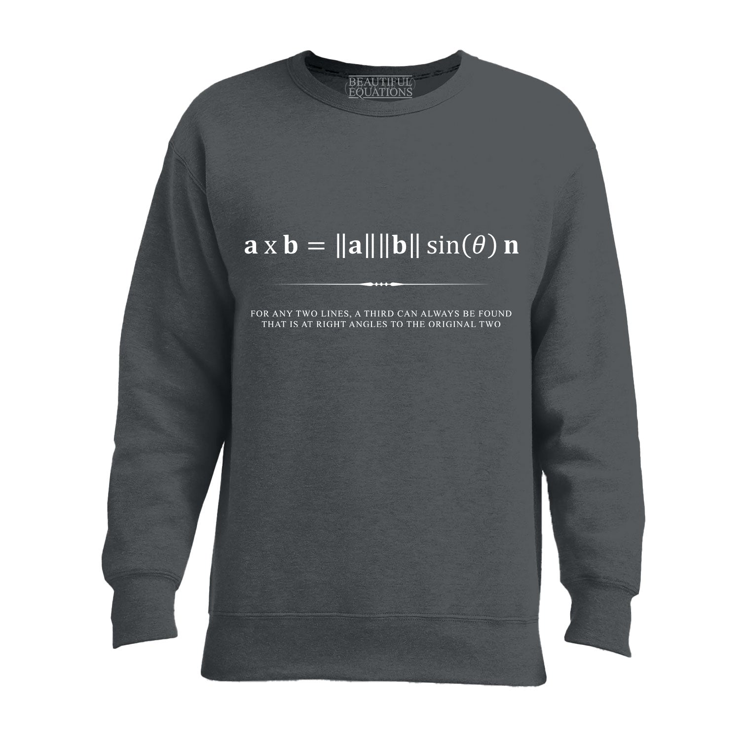 Cross Product Men's Sweatshirt