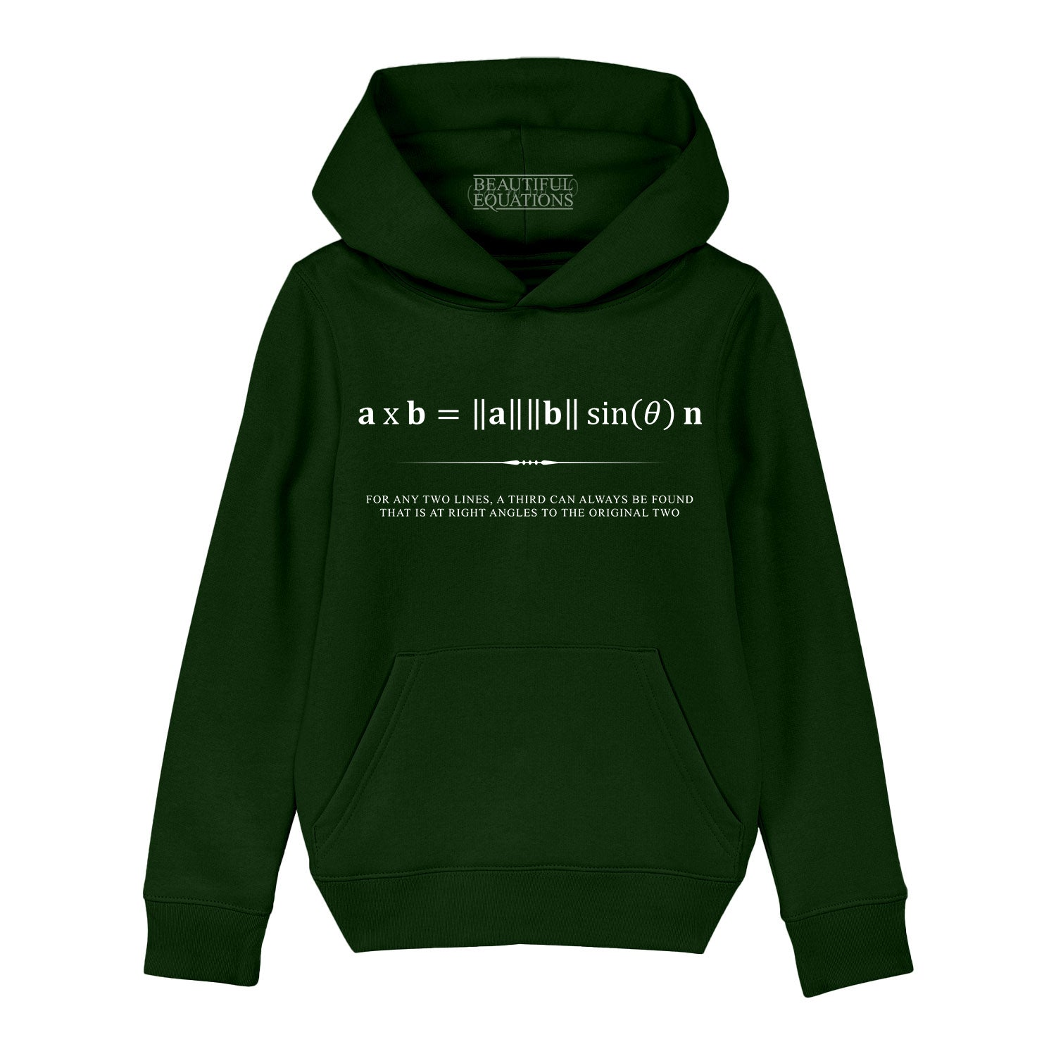 Cross Product Youth Hoodie