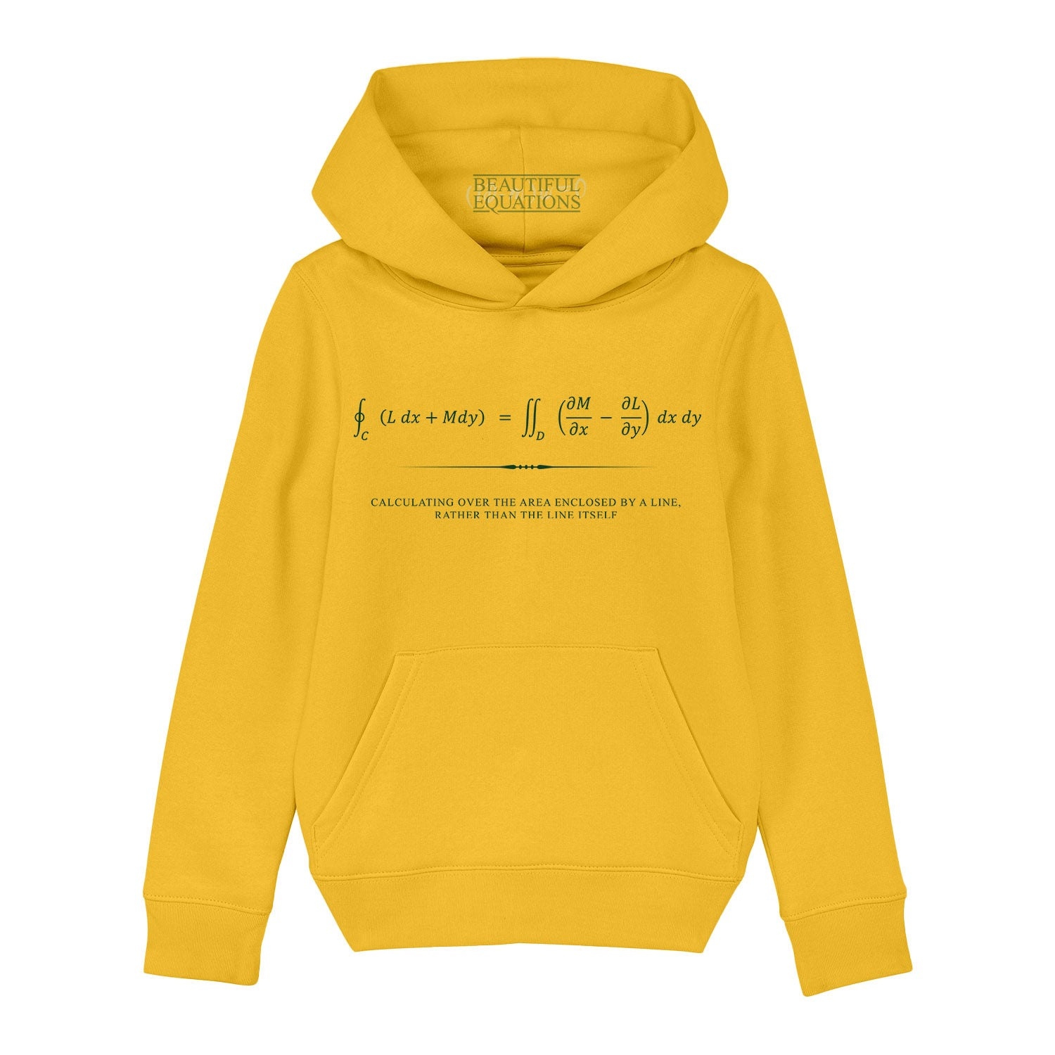 Green's Theorem Youth Hoodie