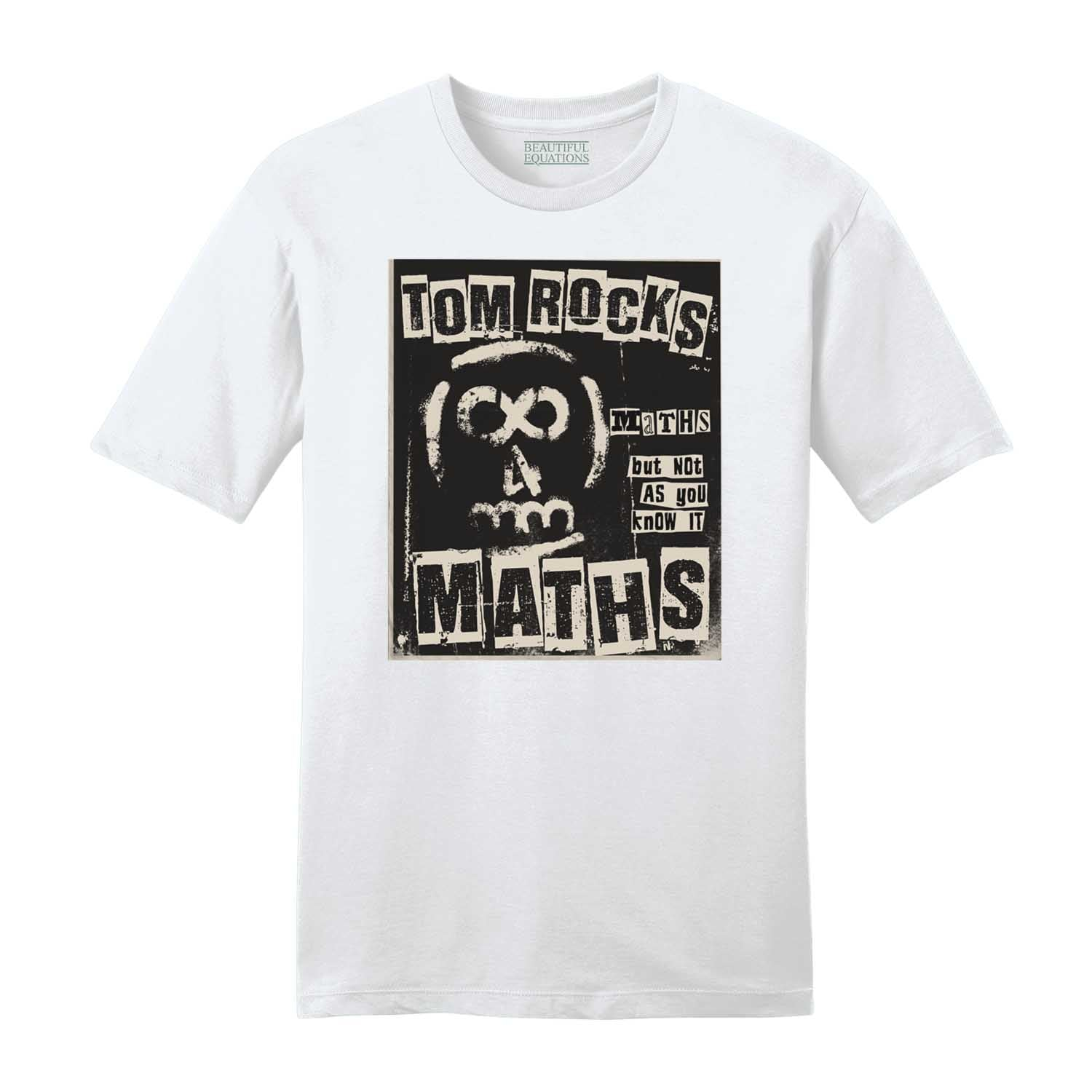 Tom Rocks Maths Punk Mens Tee