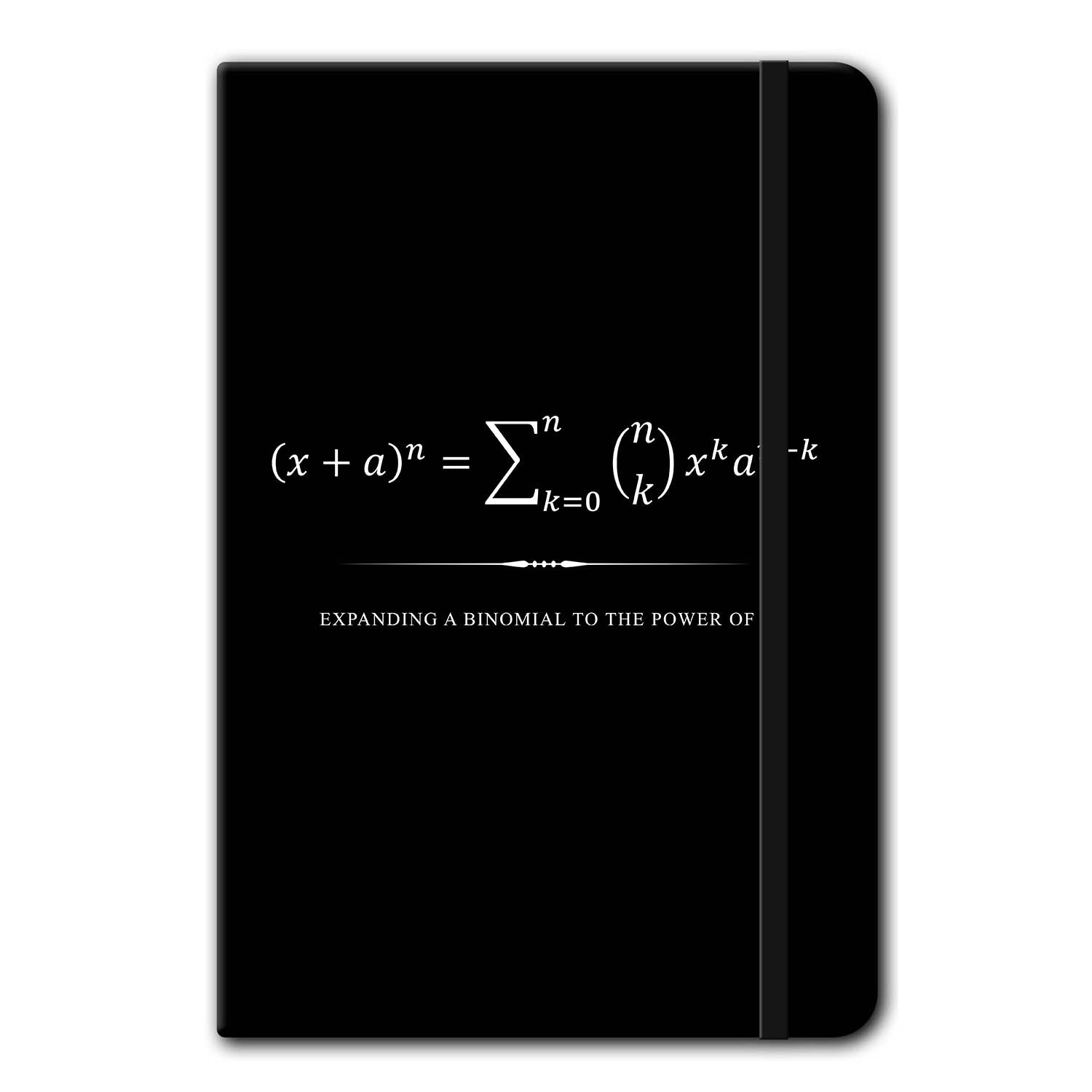 Binomial Theorem Notebook Stationery - Beautiful Equations