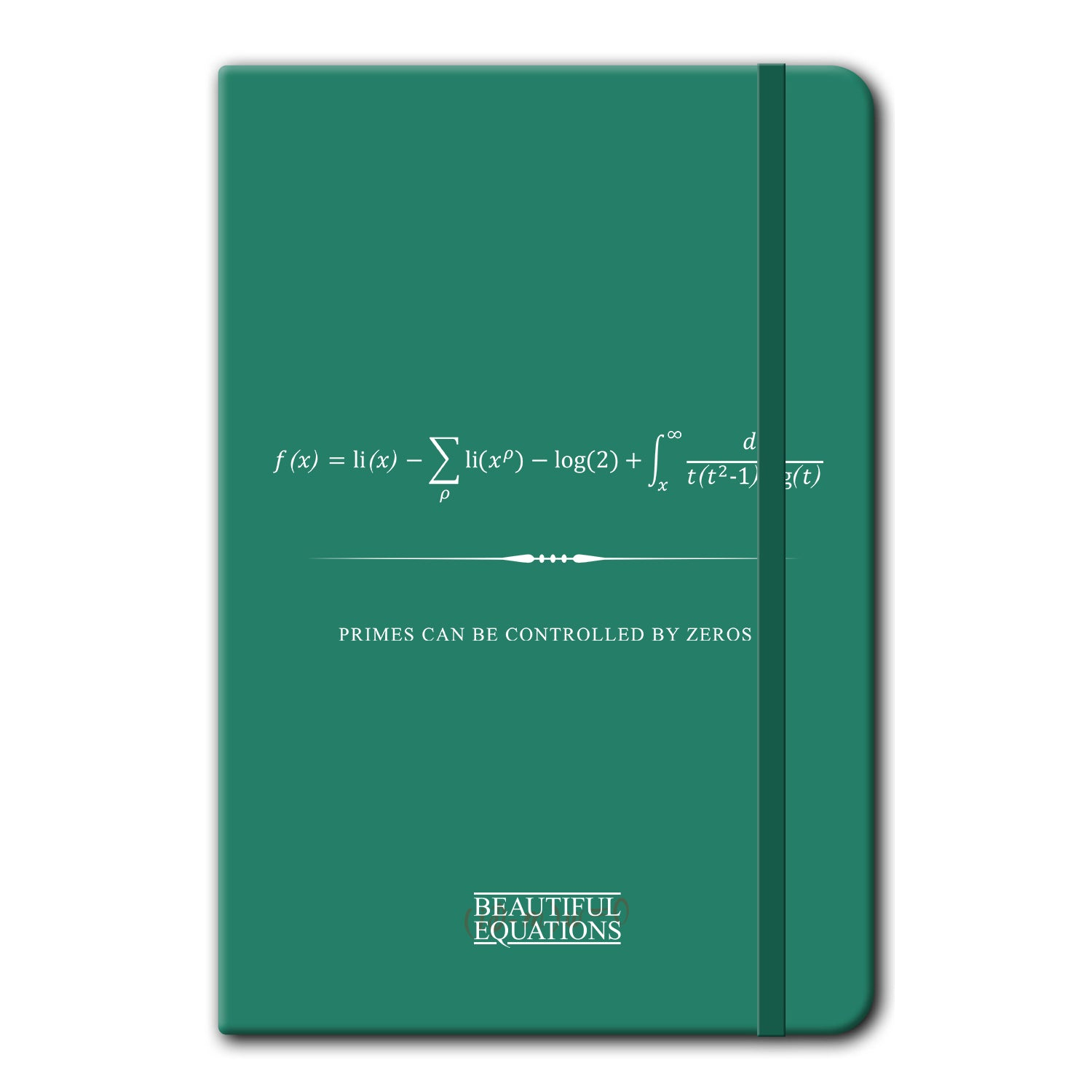 Riemann Hypothesis Notebook Stationery - Beautiful Equations