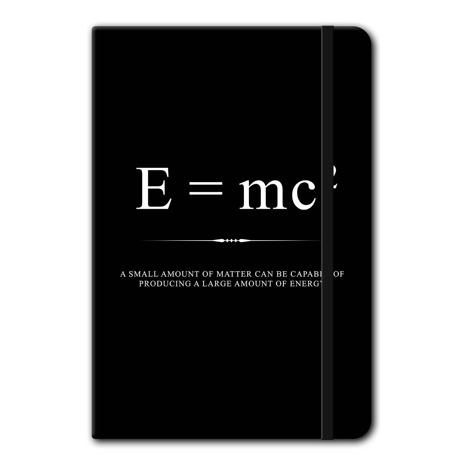 Theory of Relativity Notebook Stationery - Beautiful Equations