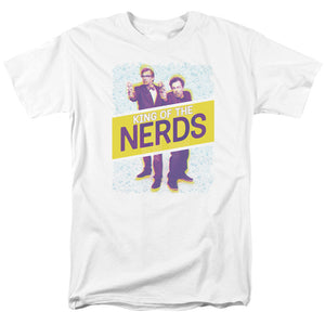 King Of The Nerds - Laser Guns Short Sleeve Adult 18/1