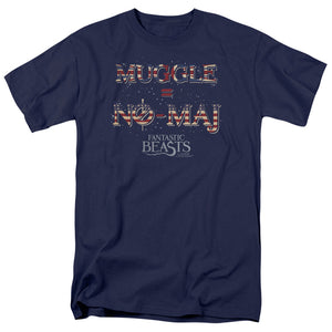 Fantastic Beasts - Muggle Us No Maj T-Shirt