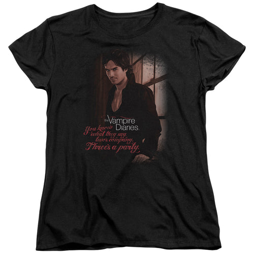 Vampire Diaries - Threes A Party Women's T-Shirt