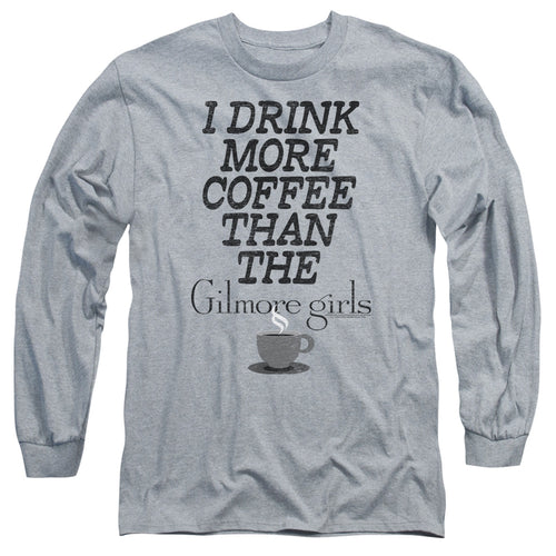 Gilmore Girls - More Coffee Long Sleeve